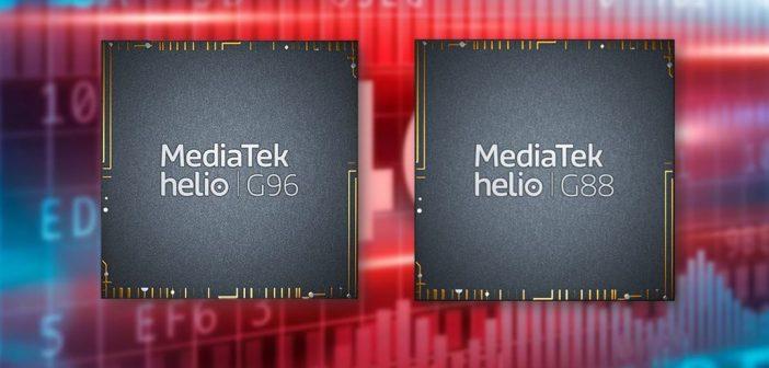 MediaTek Helio G96 y G88 son oficiales, mira sus características