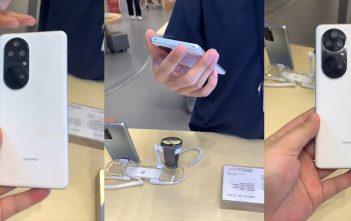 Un supuesto Huawei P50 Pro se dejó ver en video