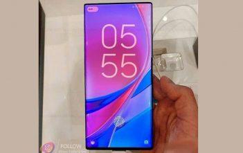 Xiaomi Mi Mix 4 se filtra con cámara frontal debajo de la pantalla