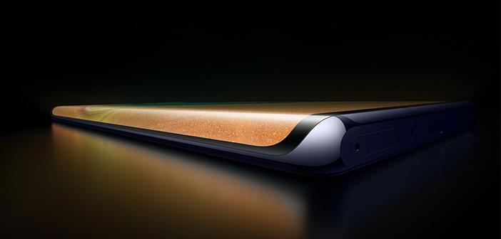 Huawei patenta una pantalla totalmente curva con virtualización de botones