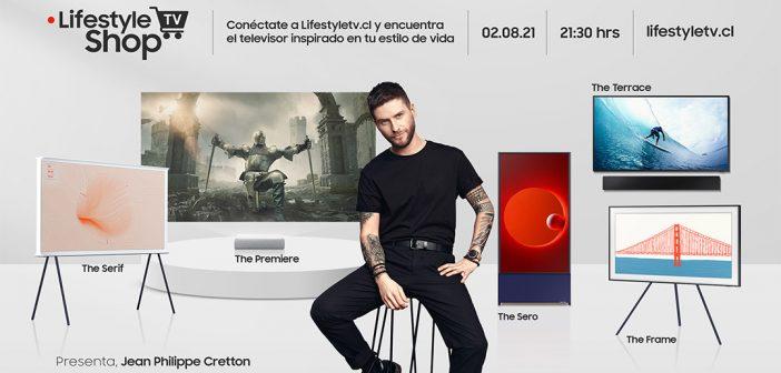 Los icónicos Smart TVs Lifestyle Samsung estarán con grandes ofertas hoy en un nuevo Live Shop