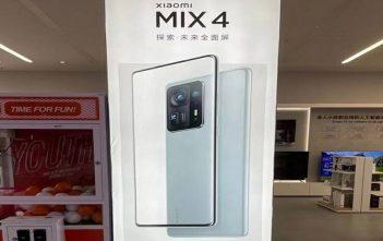 Xiaomi Mi MIX 4 se dejó ver en anuncio de publicidad en China