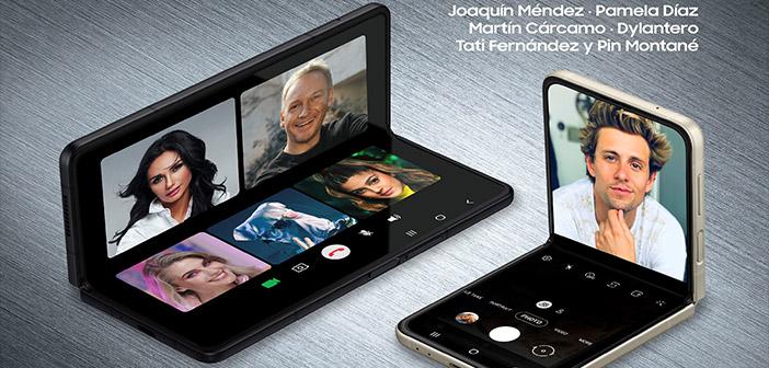 Con rostros e influencers en set de TV así será el Live Shop de los plegables de Samsung este lunes 13 de septiembre