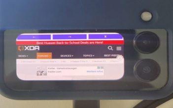 Logran abrir cualquier app en la pantalla pequeña del Galaxy Z Flip3