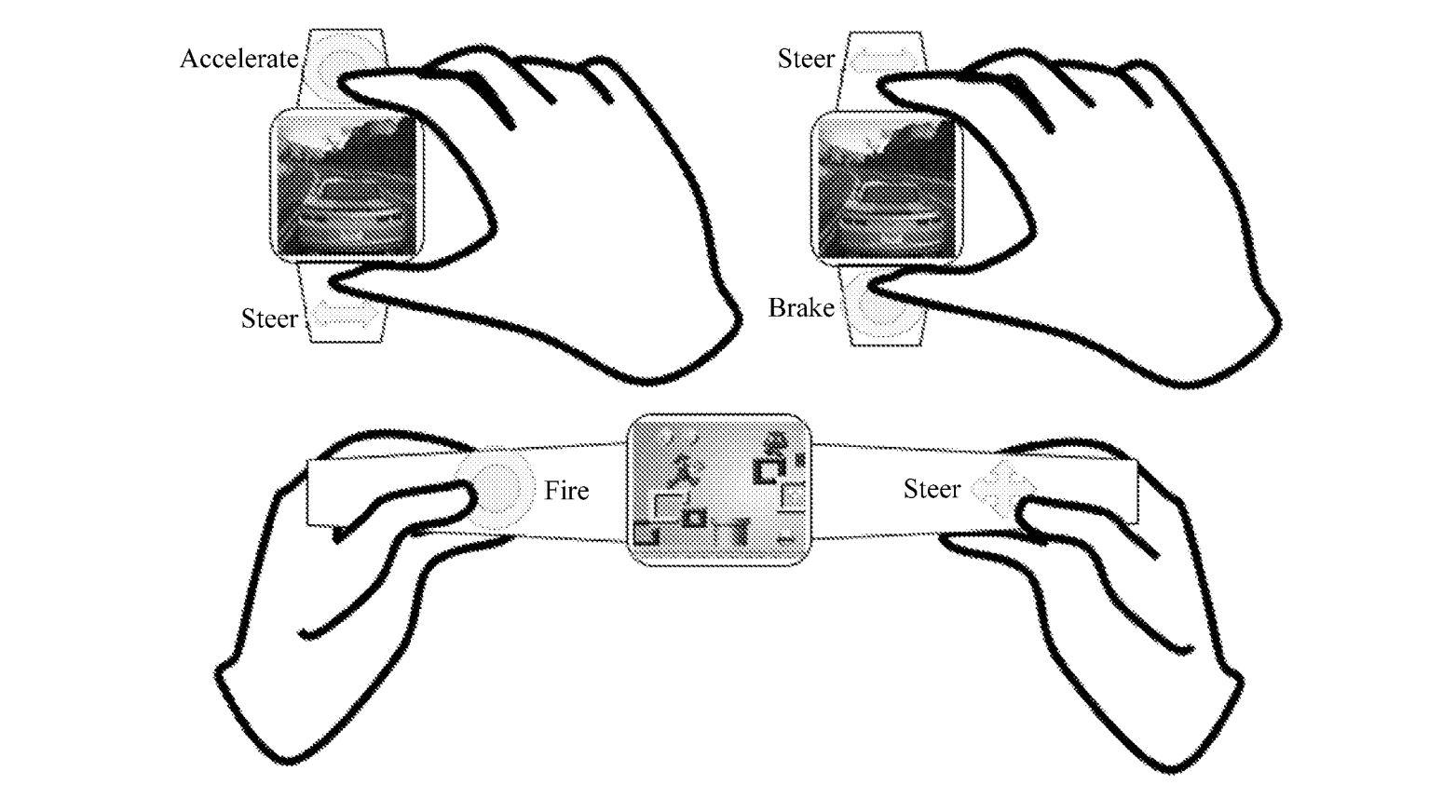La idea es un tanto alocada, pero si nos ponemos a pensar en la patente, bueno es así como nacen nuevos productos tecnológicos con imaginación, con conceptos impensables y aunque muchos de ellos nunca terminan convirtiéndose en una realidad ya sabemos que fue Huawei quien patentó esta idea del smartwatch gaming.