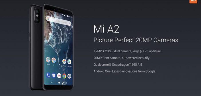 Xiaomi Mi A2, A2 Lite | lanzados con precios de ~ $ 290 y ~ $ 209 USD