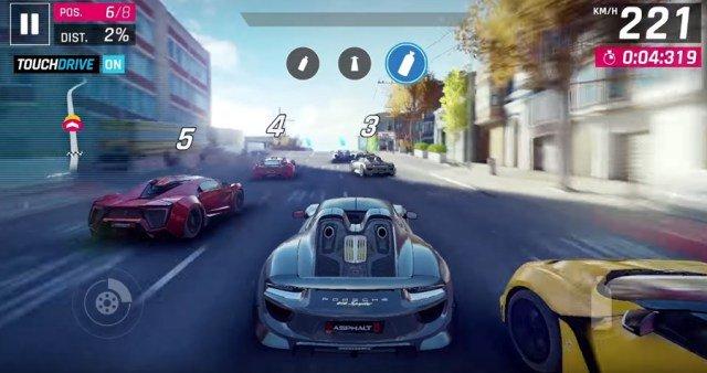 top 5 juegos de carreras para android