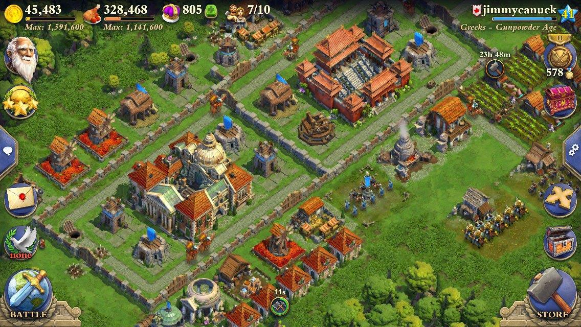Juegos de estrategia para Android