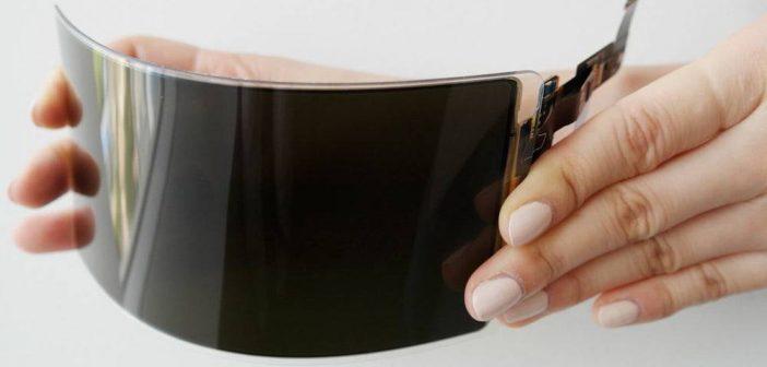 Roban información de pantallas flexibles de samsung
