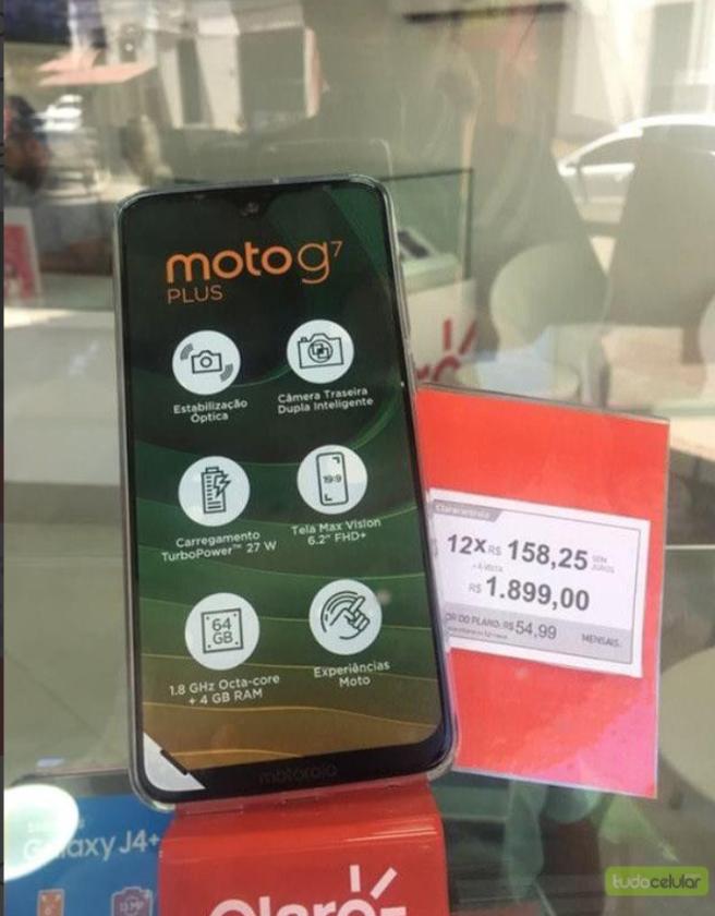 moto g7 plus precio