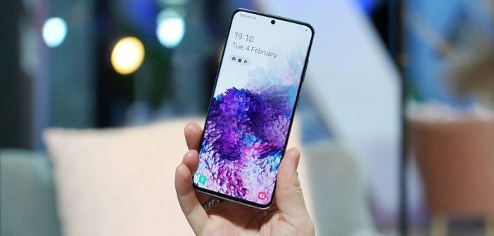 Serie Galaxy S20 recibe actualización de seguridad de abril