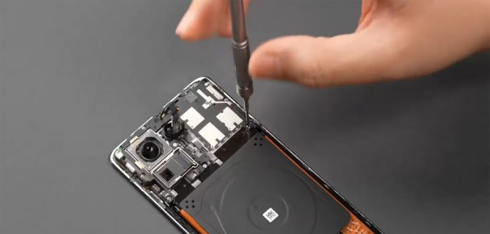 Xiaomi Mi MIX 4 es desarmado por completo y revelan todos sus detalles internos