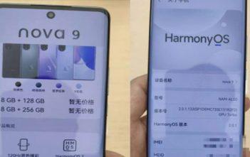El Huawei Nova 9 se filtró, mira los detalles