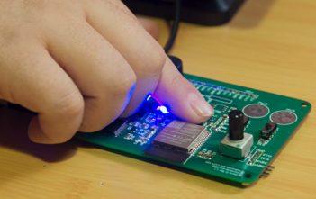 Estudiantes de escuelas rurales aprendieron sobre tecnología electrónica con el programa Internet de las Cosas