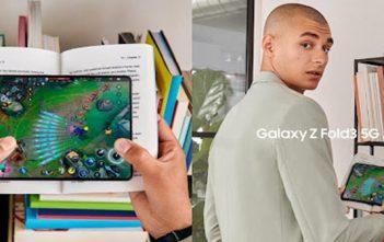 Galaxy Z Fold3 5G es el primer Smartphone plegable del mundo con cámara bajo la pantalla