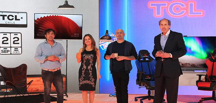 Gama de televisores TCL 2021-2022 llega a Chile oficialmente