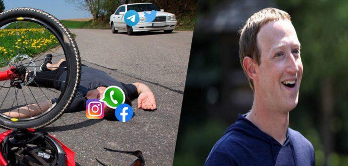Los mejores memes que dejo la caída de Facebook, WhatsApp e Instagram