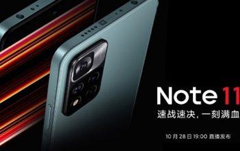 Redmi Note 11 se presentará a finales de este mes